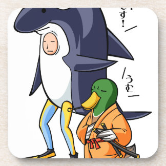 It is turn! Duck teacher! English story Kamogawa Drink Coasters