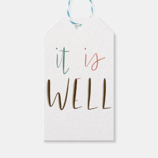 It Is Well Gift Tags