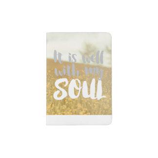 It is Well in my Soul - Field Passport Holder