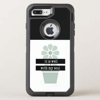 It is well OtterBox defender iPhone 8 plus/7 plus case