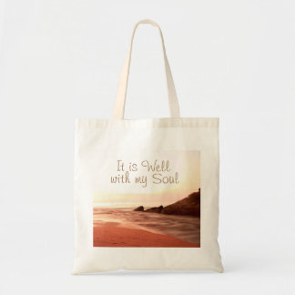It is Well With My Soul, Beloved Hymn Tote Bag