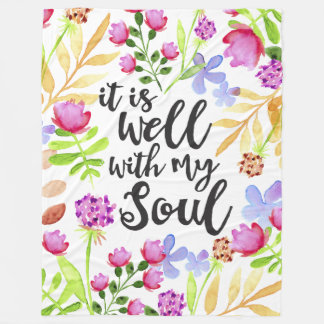 It is Well with my soul Blanket