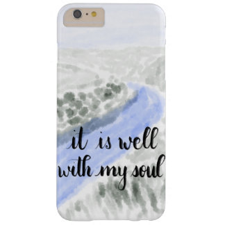 It Is Well With My Soul Handlettered Phone Case