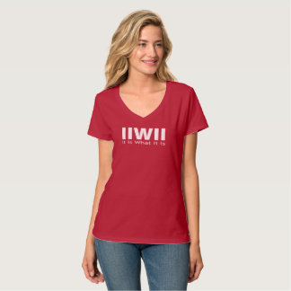 It Is What It Is T shirt. T-Shirt