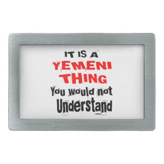 IT IS YEMENI THING DESIGNS RECTANGULAR BELT BUCKLES