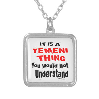 IT IS YEMENI THING DESIGNS SILVER PLATED NECKLACE