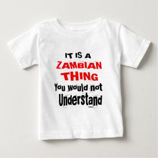 IT IS ZAMBIAN THING DESIGNS BABY T-Shirt