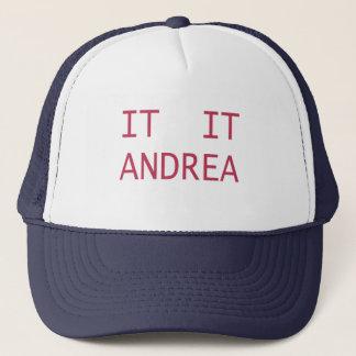 IT IT ANDREA TRUCKER HAT