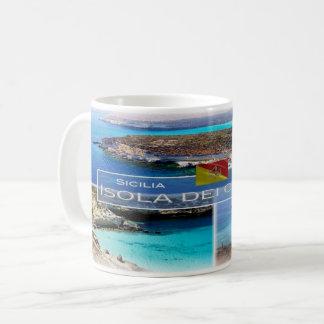 IT  Italia - Sicilia - Isola dei Conigli - Coffee Mug