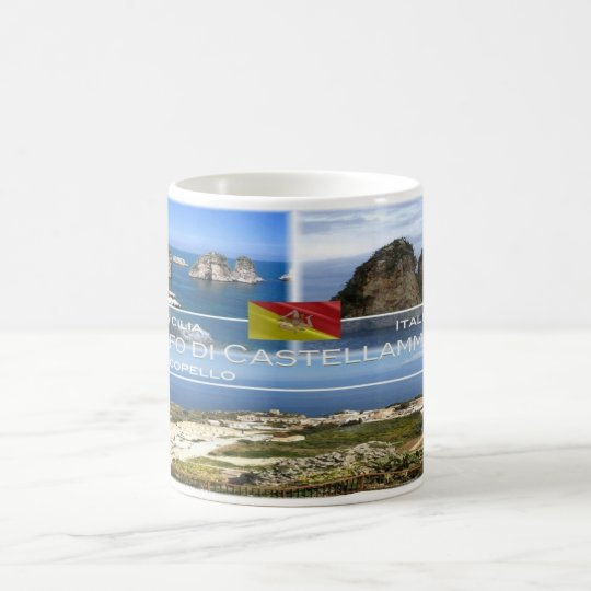IT  Italia - Sicilia -Scopello - Coffee Mug