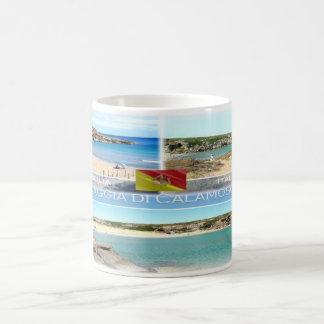 IT Italia - Sicilia - Spiaggia di Calamosche - Coffee Mug