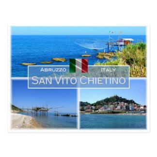IT Italy - Abruzzo - San Vito Chietino - Postcard