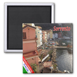 IT - Italy - Amalfi Coast - Sorrento Square Magnet
