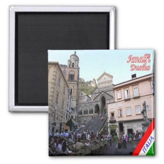 IT - Italy - Amalfi - Duomo Square Square Magnet