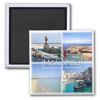 IT # Italy - Apulia - Monopoli - Magnet