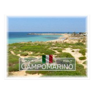 IT Italy - Apulia - Puglia - Campomarino - Postcard