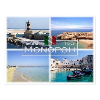 IT Italy - Apulia - Puglia - Monopoli - Postcard
