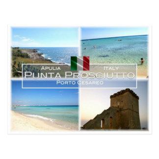 IT Italy - Apulia - Puglia - Punta Prosciutto - Postcard