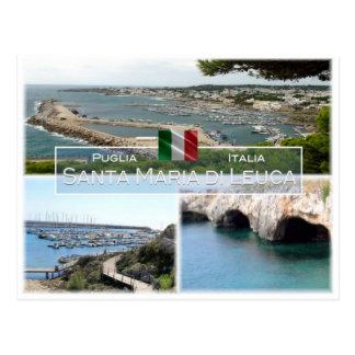 IT Italy - Apulia - Puglia - Santa Maria di Leuca Postcard