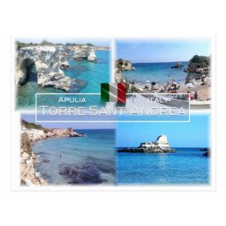 IT Italy - Apulia - Puglia - Torre Sant'Andrea - Postcard