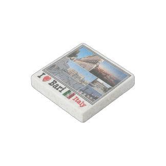 IT  Italy - Bari - mosaic - Stone Magnets