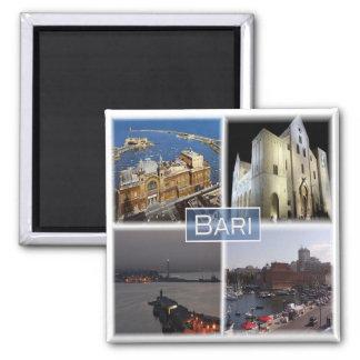 IT * Italy -  Bari Square Magnet