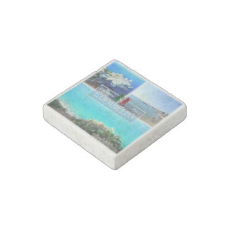 IT Italy - Calabria - Copanello - Sea and Cliffs - Stone Magnets