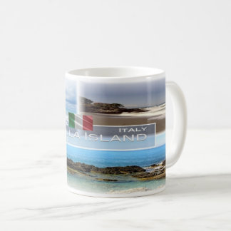 IT Italy - Calabria - Diamante And Cirella Island Coffee Mug