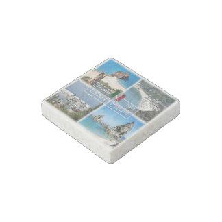 IT Italy - Calabria - Lido di Palmi - Stone Magnets
