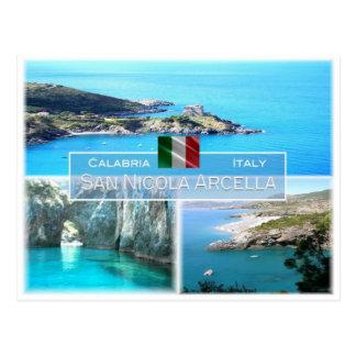 IT Italy - Calabria - San Nicola Arcella - Postcard