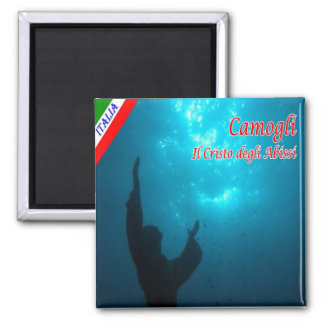 IT - Italy - Camogli - The Christ of the Abyss Magnet