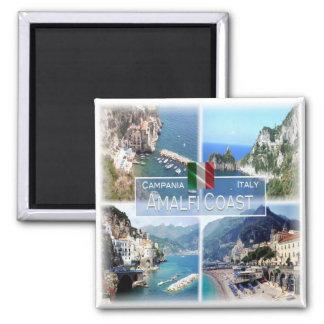 IT - Italy # Campania - Amalfi Coast  - Square Magnet