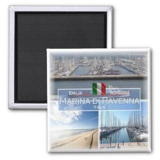 IT Italy # Emilia Romagna - Marina di Ravenna - Square Magnet