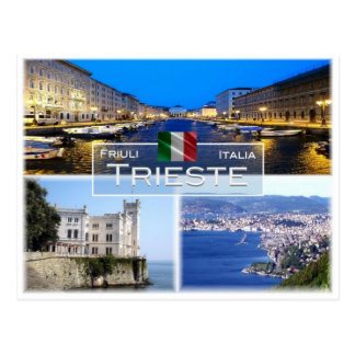 IT Italy - Friuli Venezia Giulia - Trieste - Postcard
