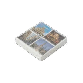 IT Italy - Italia - Milano - Duomo - Sforza Castle Stone Magnets