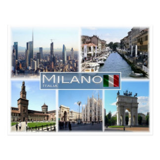 IT Italy - Italia - Milano - Postcard