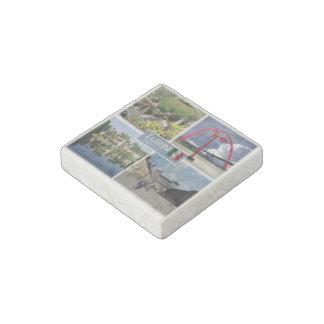 IT Italy -  Italia - Turin - Valentino Park - Stone Magnets