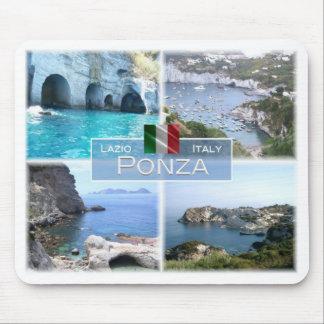 IT Italy - Lazio - Ponza - Punta del Papa - Mouse Pad
