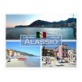 IT Italy - Liguria - Alassio - Postcard