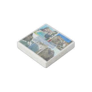 IT Italy - Liguria - Cinque Terre - Stone Magnets
