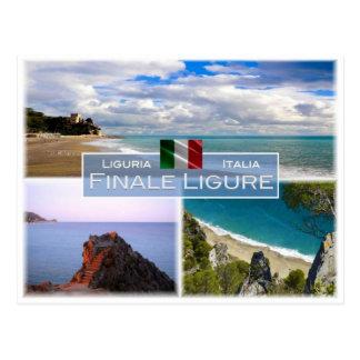 IT Italy - Liguria - Finale Ligure - Postcard