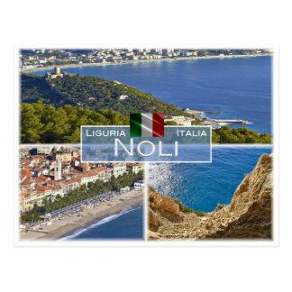 IT Italy - Liguria - Noli - Postcard