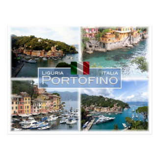 IT Italy - Liguria -  Portofino - Postcard