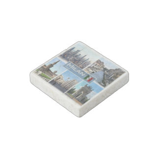 IT Italy - Lombardy - Milan - Stone Magnets