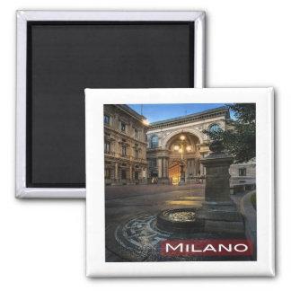 IT * Italy Milan Milano Galleria Vittorio Emanuele Magnet