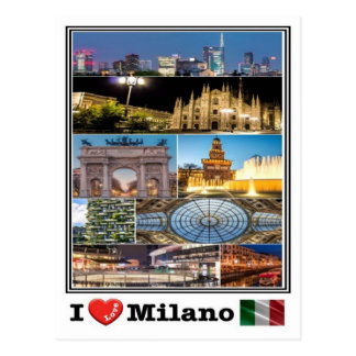 IT Italy - Milano - Postcard