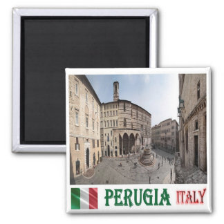 IT - Italy - Perugia - Cityscape Magnet
