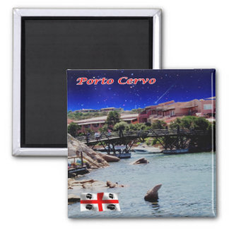 IT - Italy - Porto Cervo - The Port Square Magnet