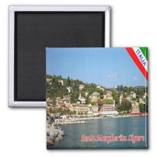 IT - Italy - Santa Margherita Ligure Square Magnet
