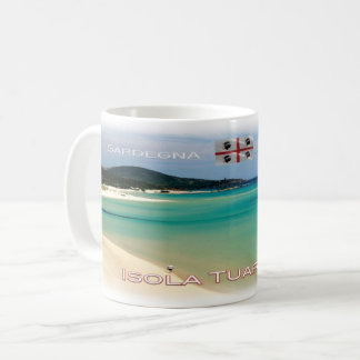 IT Italy - Sardegna - Isola Tuaredda - Coffee Mug